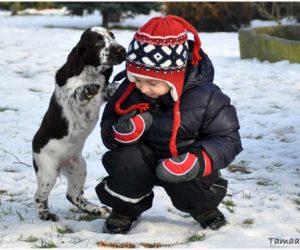 Glenn w Nantes, zimowe fotki i Fiolka w Poznaniu